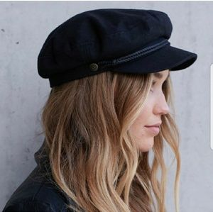 Brixton Accessories - NWT BRIXTON Black Fiddler Cap a72bb1a03bf